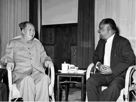 Com.Shan visit Mao during the GPCR